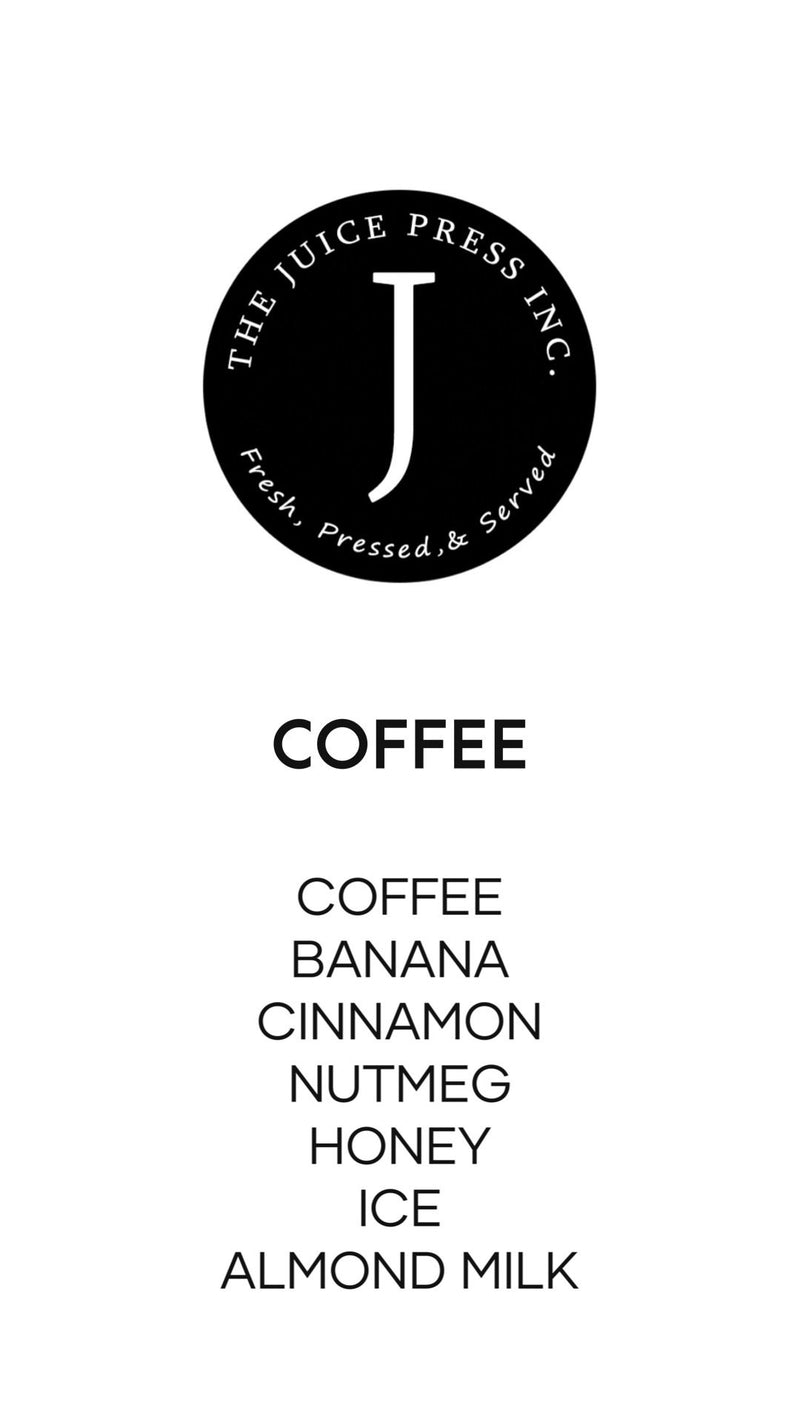 COFFEE - The Juice Press Inc.