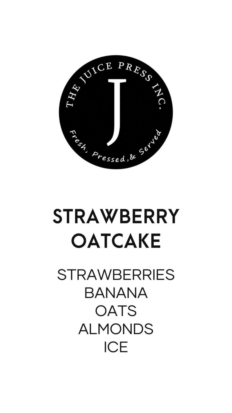 STRAWBERRY OATCAKE - The Juice Press Inc.
