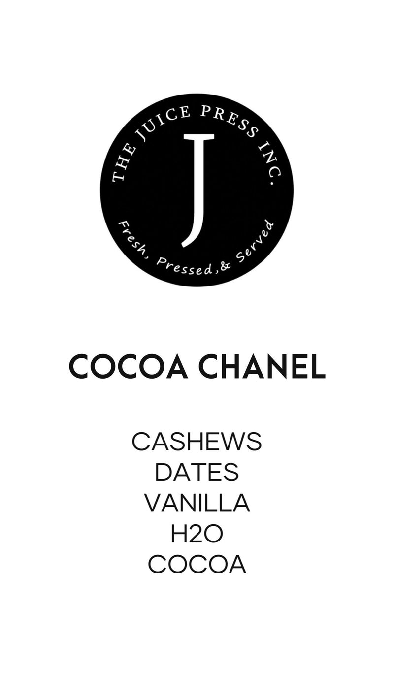 COCOA CHANEL - The Juice Press Inc.