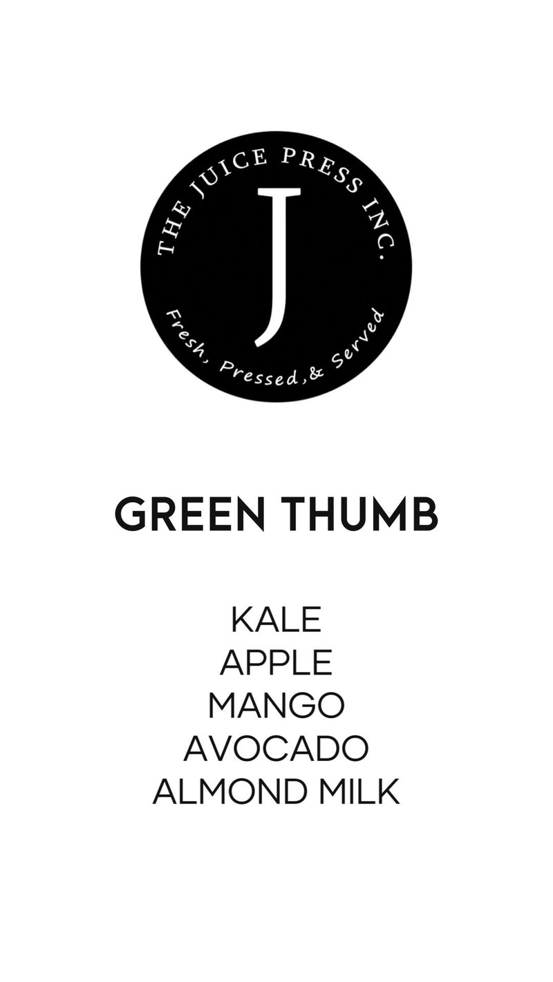 GREEN THUMB - The Juice Press Inc.