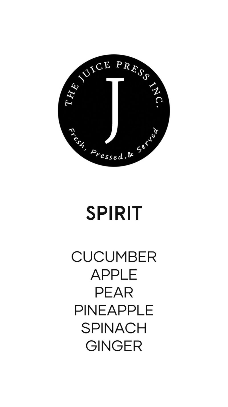 SPIRIT - The Juice Press Inc.