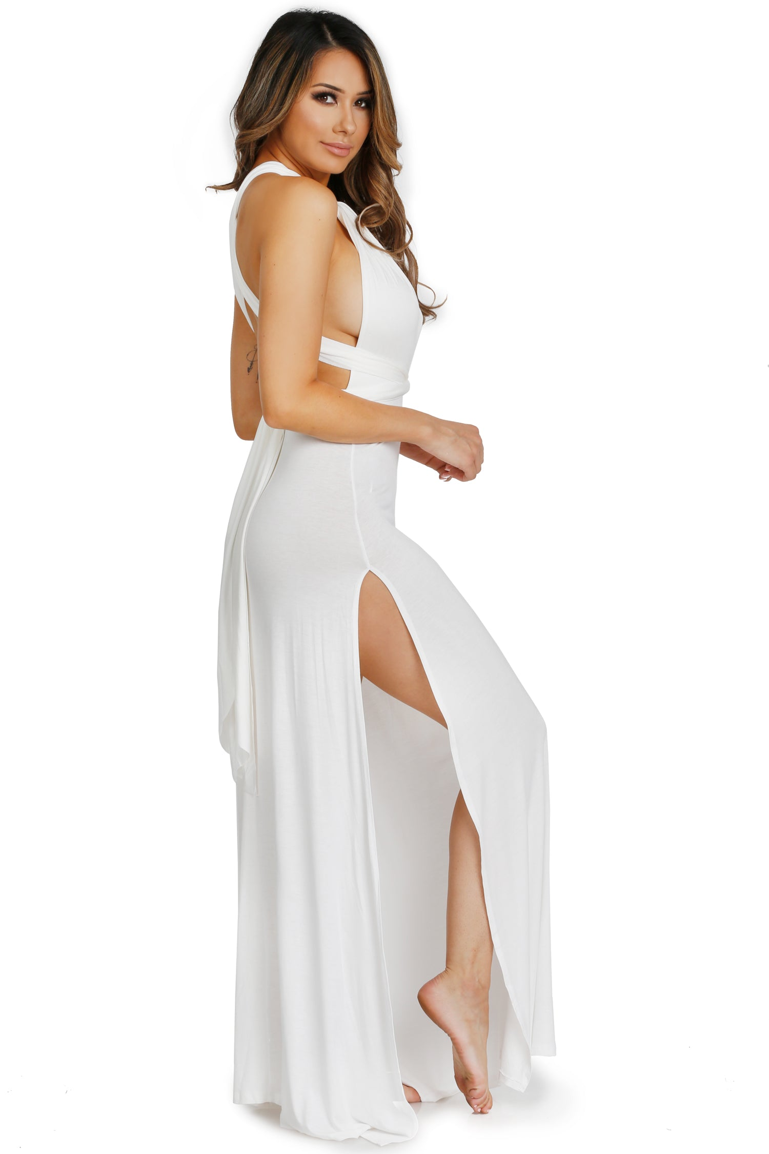 CANCUN WRAP DRESS