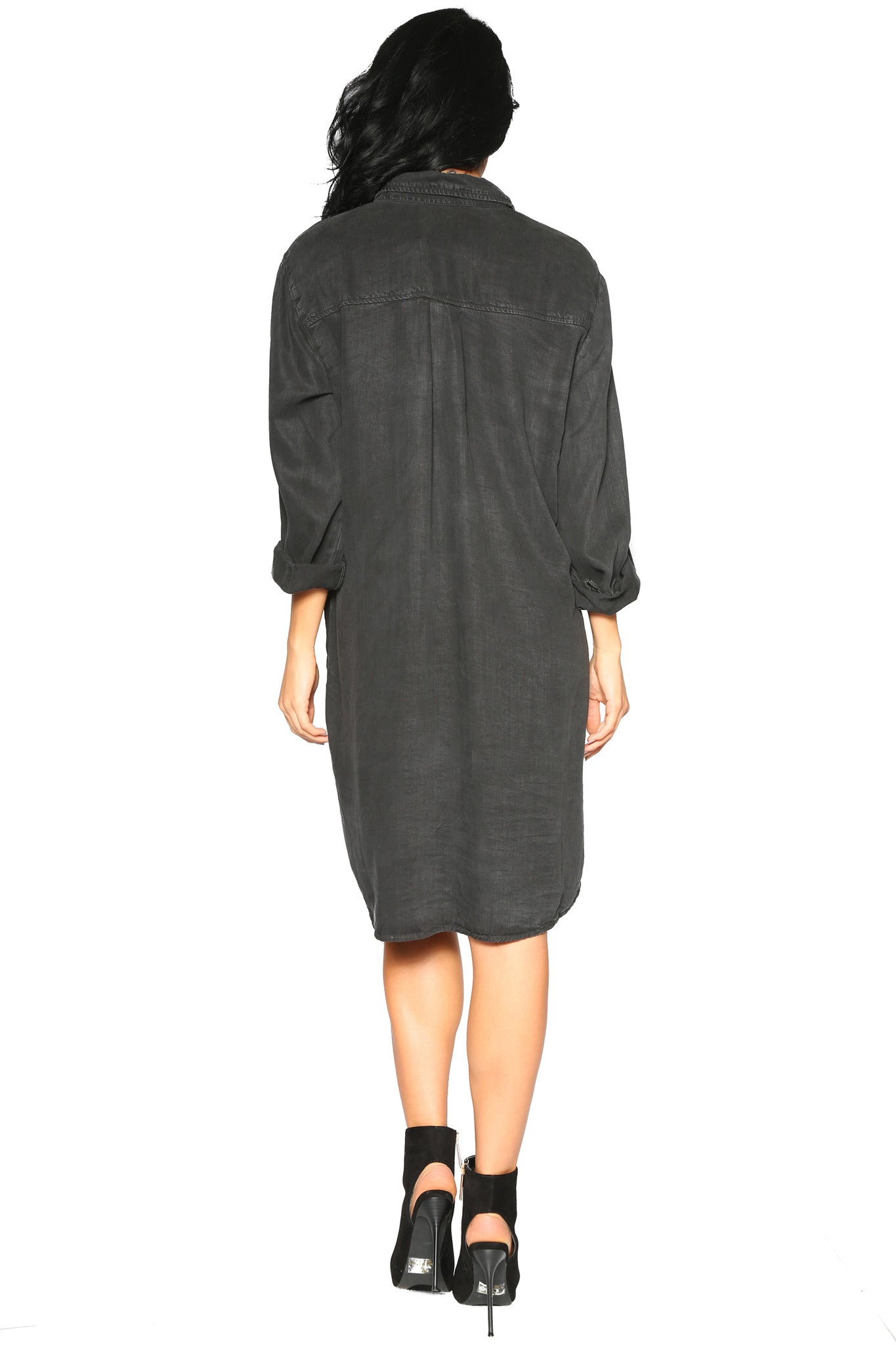 NATASHA SHIRT DRESS - Glam Envy - 3