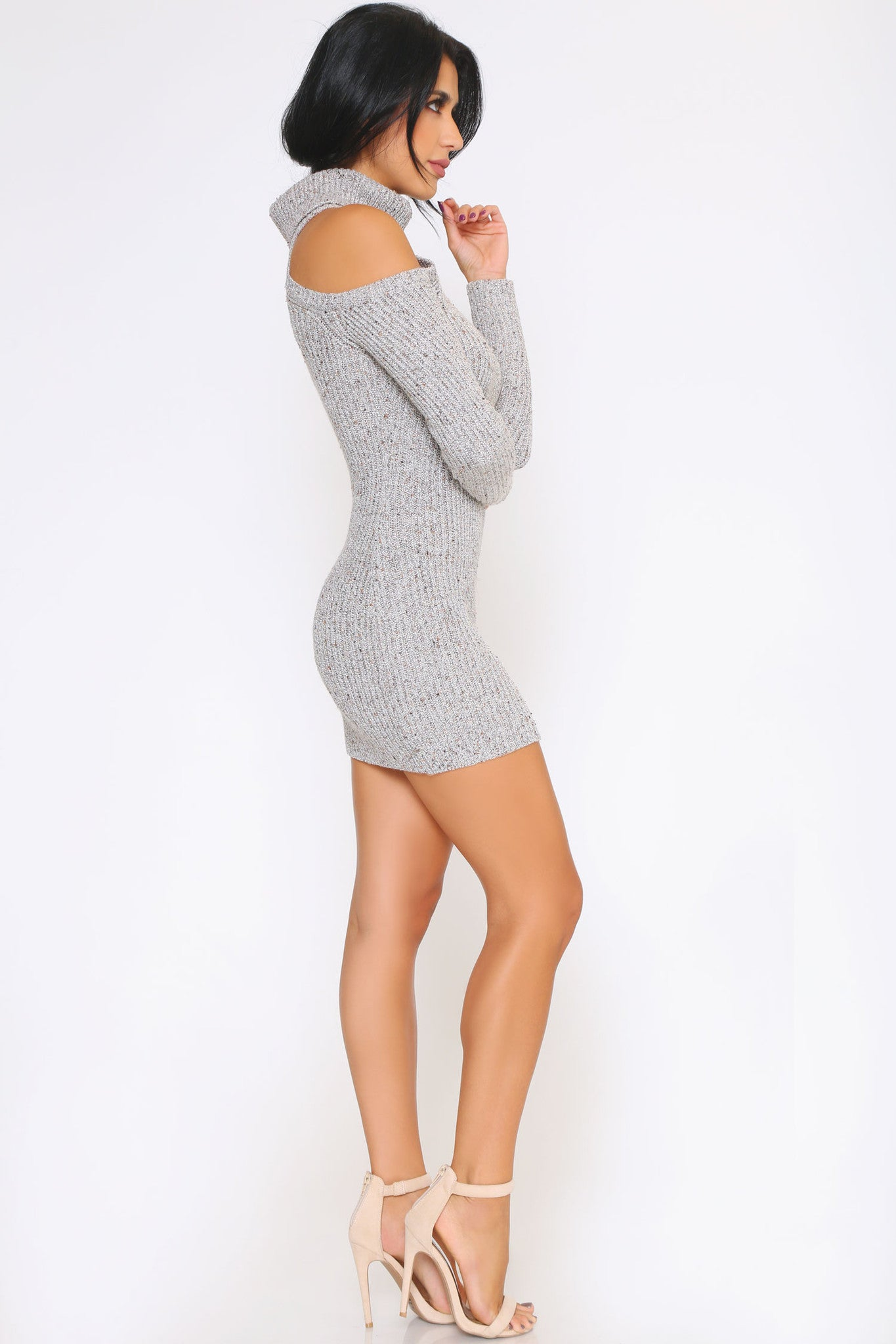 HAZEL SWEATER DRESS - Glam Envy - 2