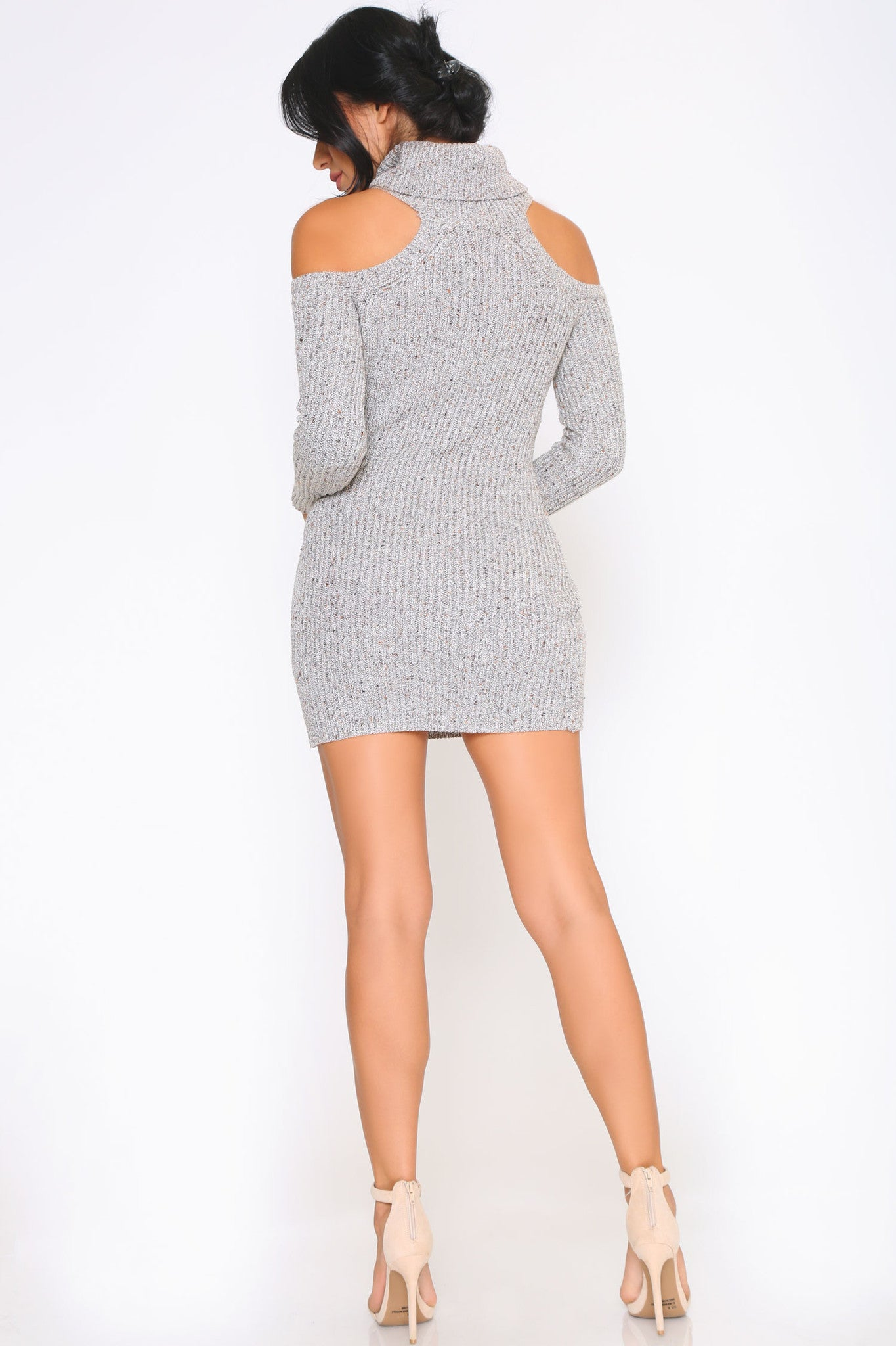 HAZEL SWEATER DRESS - Glam Envy - 3
