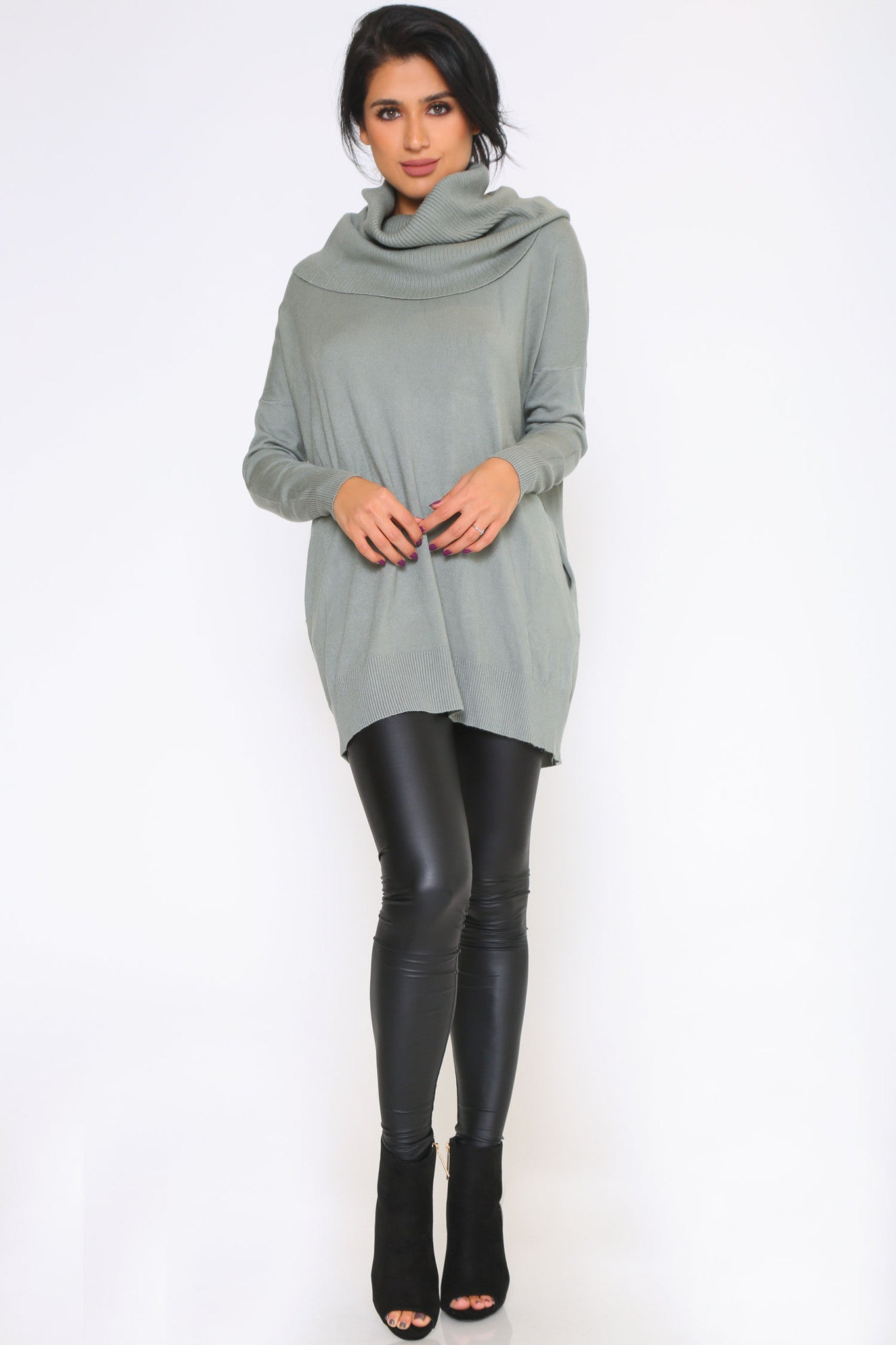 KENDRA SWEATER DRESS - Glam Envy - 1