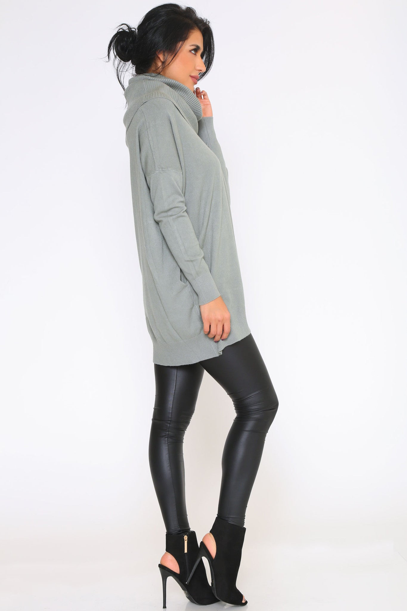 KENDRA SWEATER DRESS - Glam Envy - 2