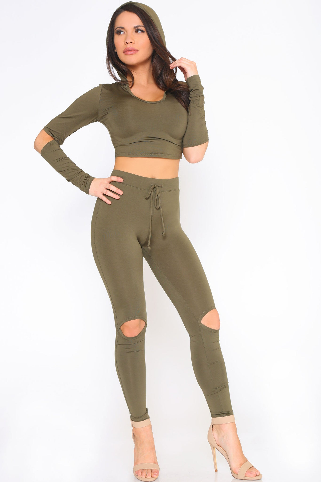 YONCE CROP TOP AND LEGGINGS SET - Glam Envy - 3