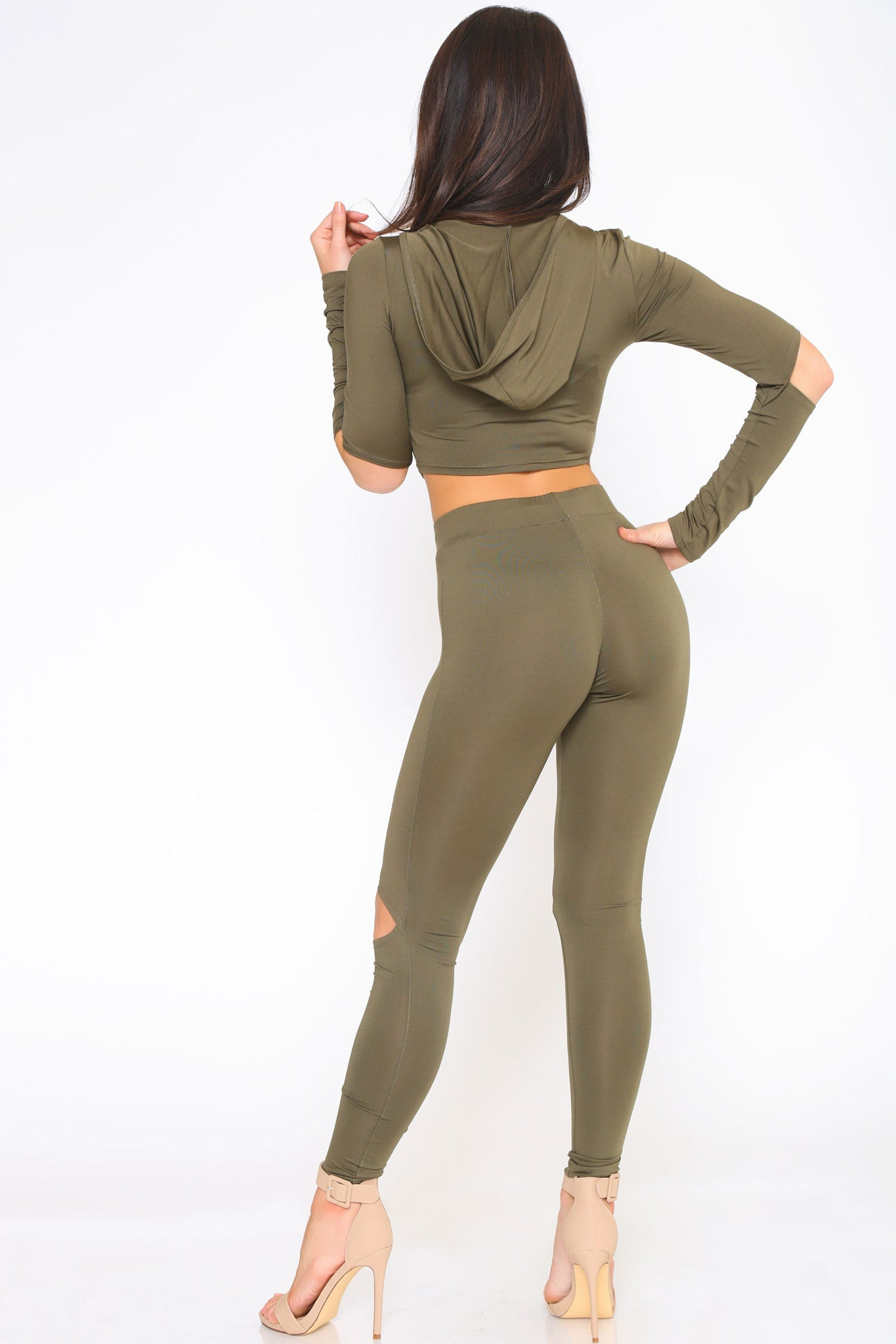 YONCE CROP TOP AND LEGGINGS SET - Glam Envy - 5