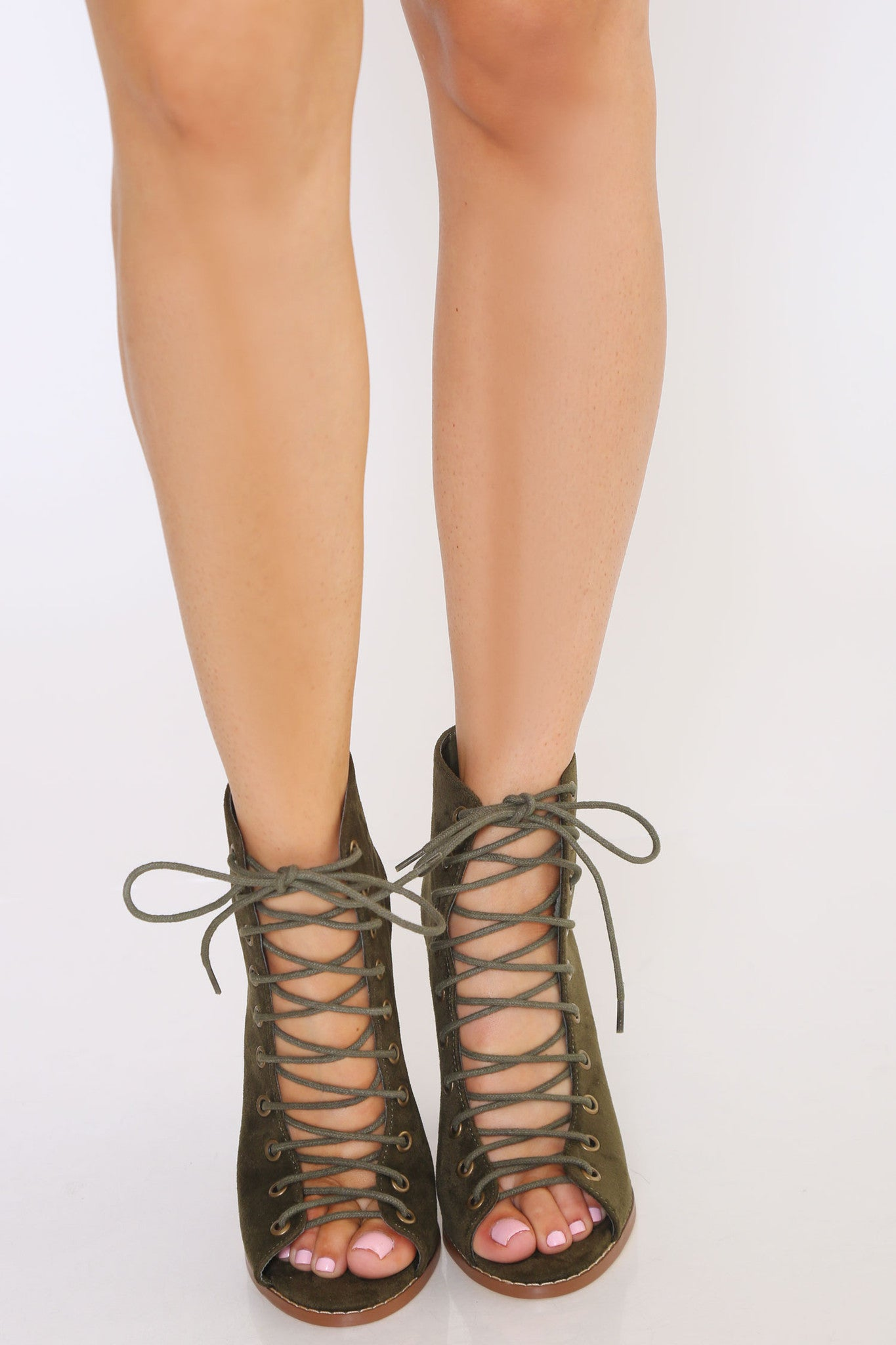 SHEELA LACE UP BOOTIES - Glam Envy - 2