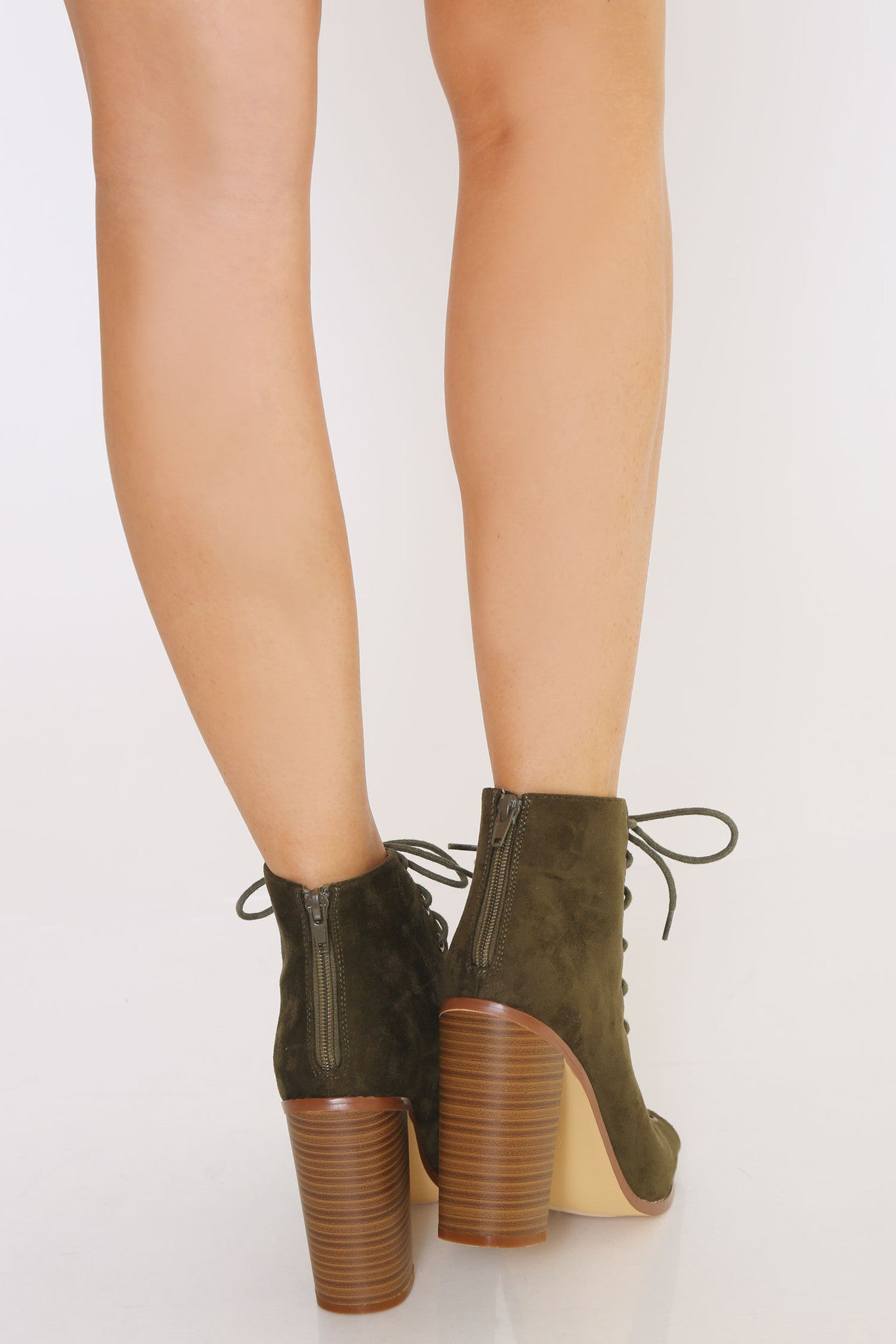 SHEELA LACE UP BOOTIES - Glam Envy - 3