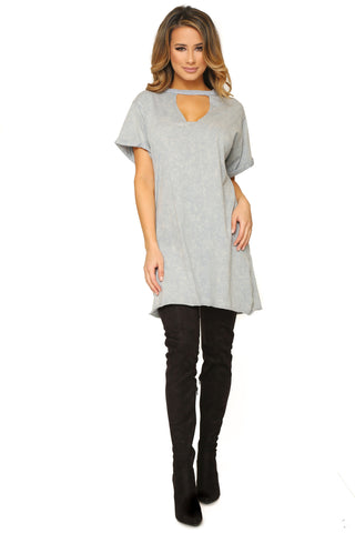 CONSTANTINE T-SHIRT DRESS - Glam Envy - 1