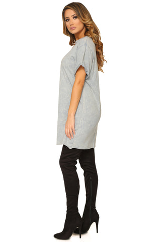 CONSTANTINE T-SHIRT DRESS - Glam Envy - 2