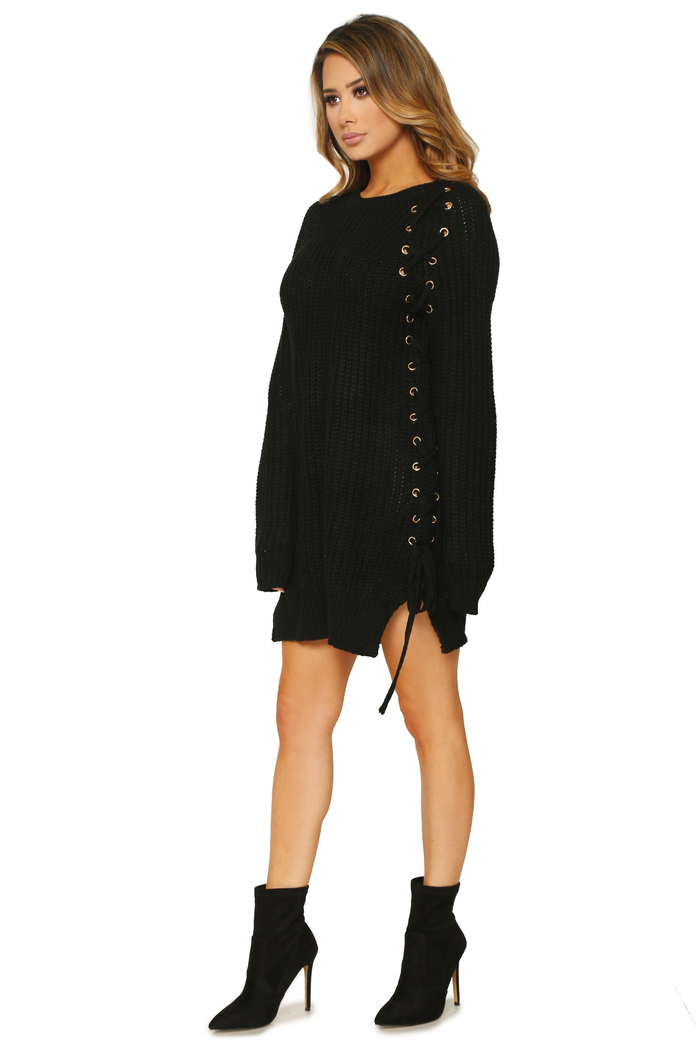 TAMIA SWEATER DRESS - Glam Envy - 2