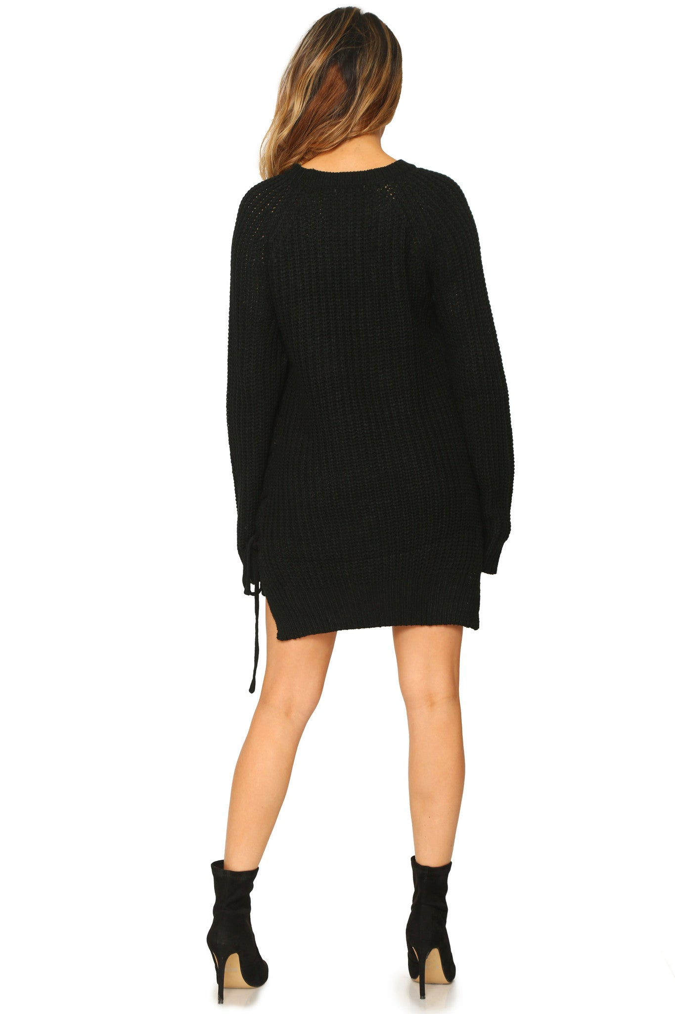 TAMIA SWEATER DRESS - Glam Envy - 3