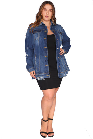DOMINIQUE DENIM JACKET (NO RESTOCKS)