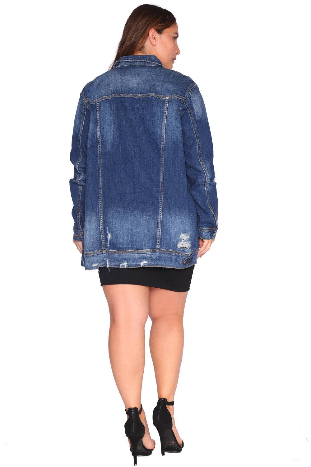 DOMINIQUE DENIM JACKET