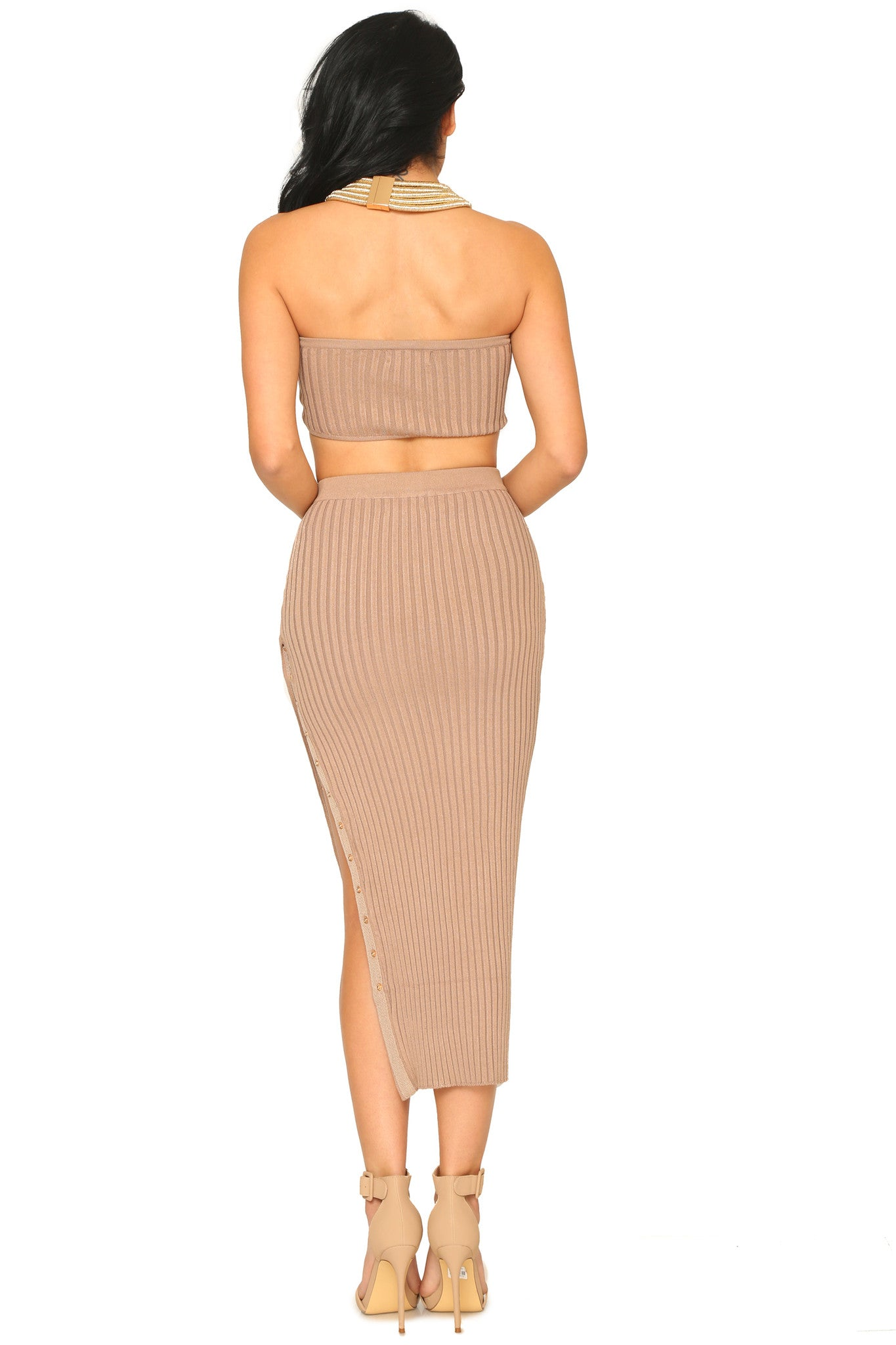GISELLE CROP TOP AND SKIRT (SOLD SEPARATELY) - Glam Envy - 3