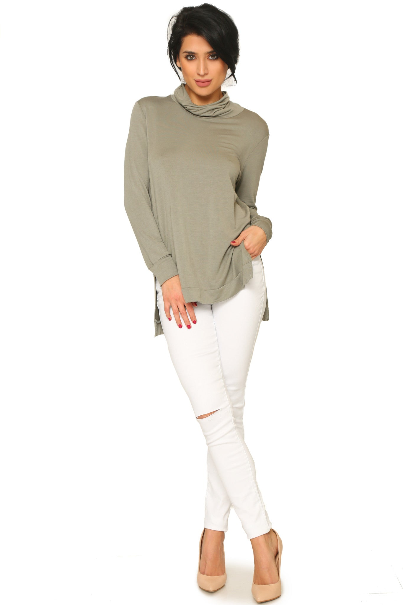 ROMINA LONG SLEEVE SHIRT