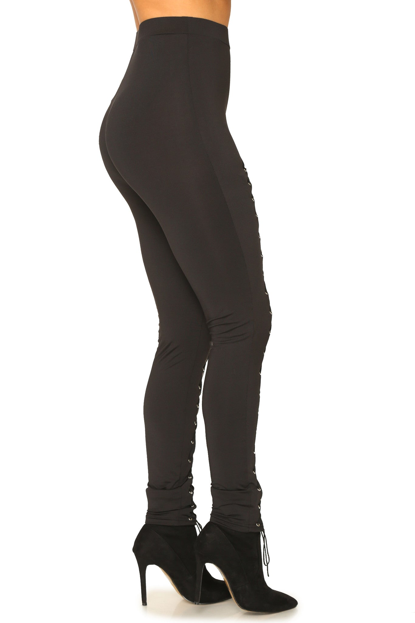 LACE ME UP LEGGINGS - Glam Envy - 2