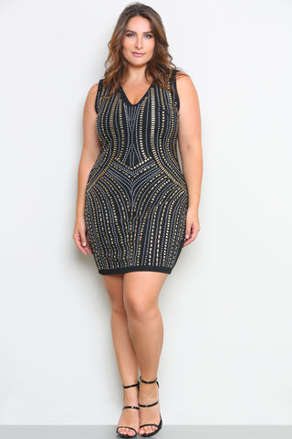 KOURTNEY DRESS - Glam Envy - 1
