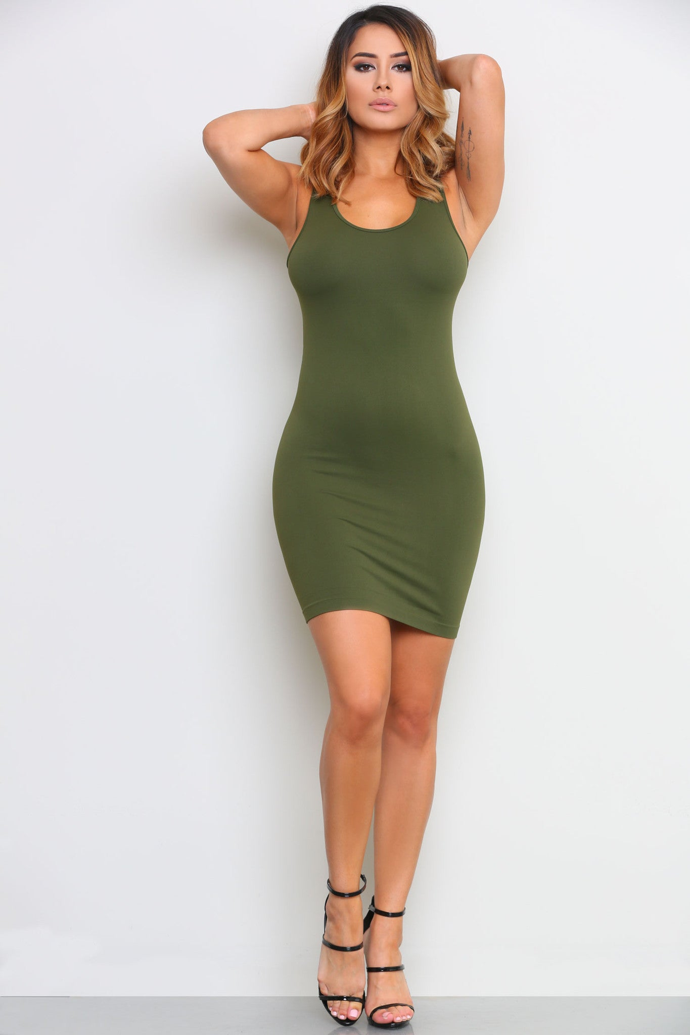 LEAH SLIP DRESS - Glam Envy - 1