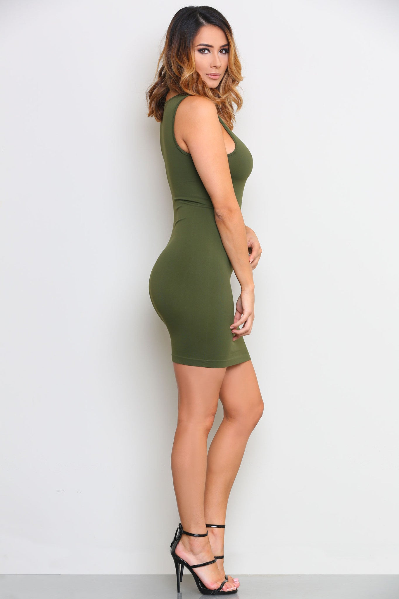 LEAH SLIP DRESS - Glam Envy - 2