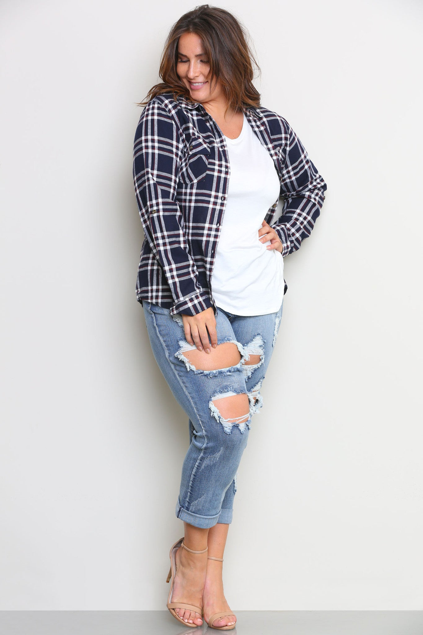 BRONX FLANNEL SHIRT - Glam Envy - 1