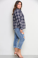 BRONX FLANNEL SHIRT - Glam Envy - 2