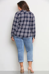 BRONX FLANNEL SHIRT - Glam Envy - 3