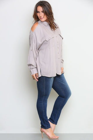 JAMIE BLOUSE - Glam Envy - 1