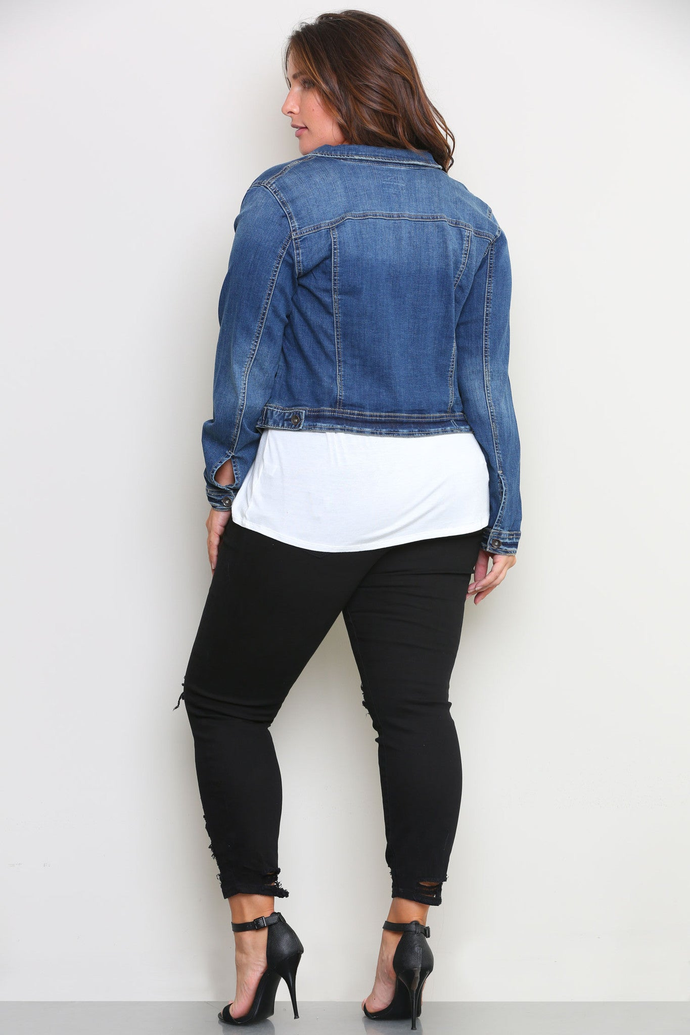 BEVERLY DENIM JACKET - Glam Envy - 3