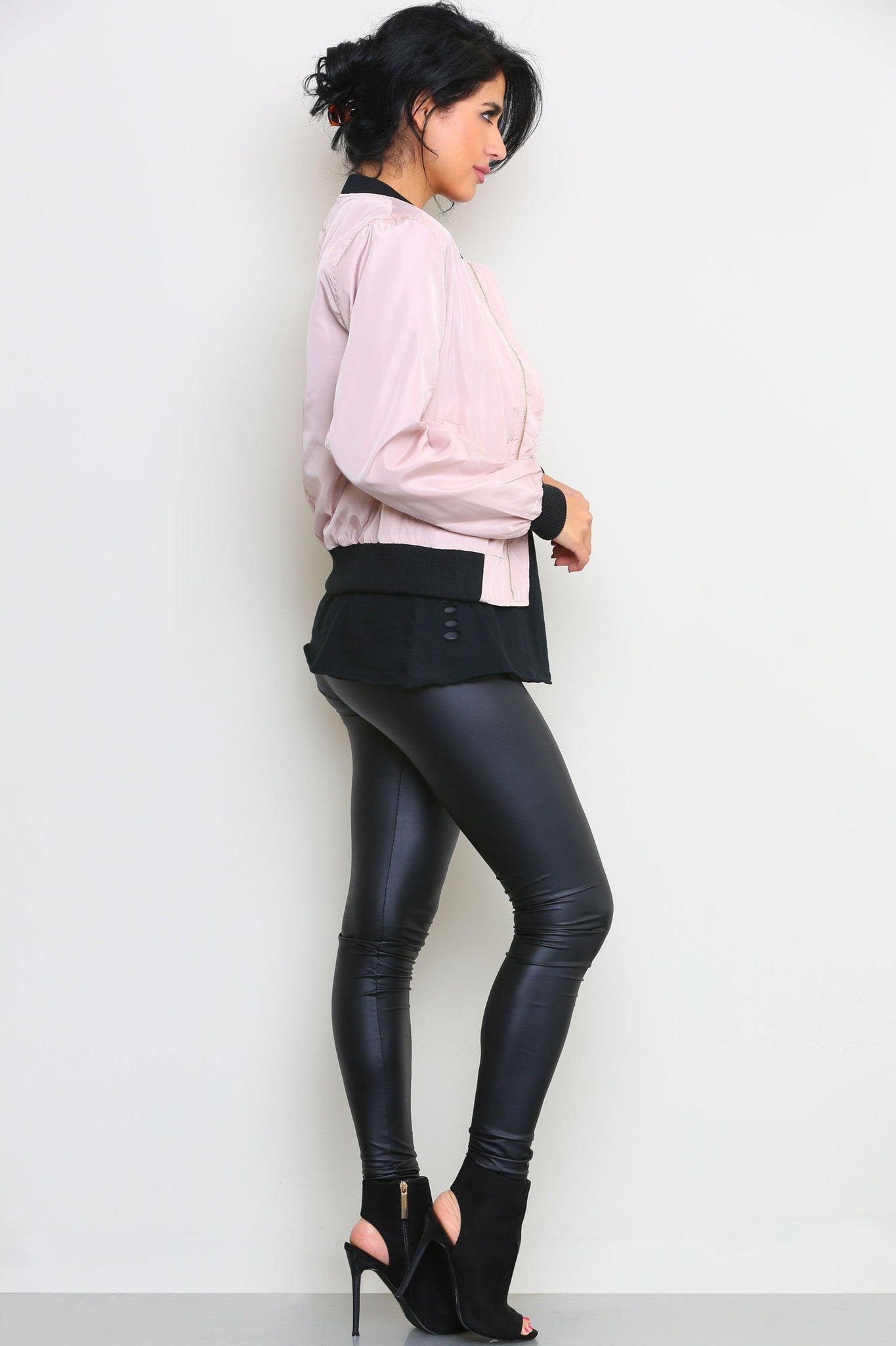 CHRISTINE BOMBER JACKET - Glam Envy - 3