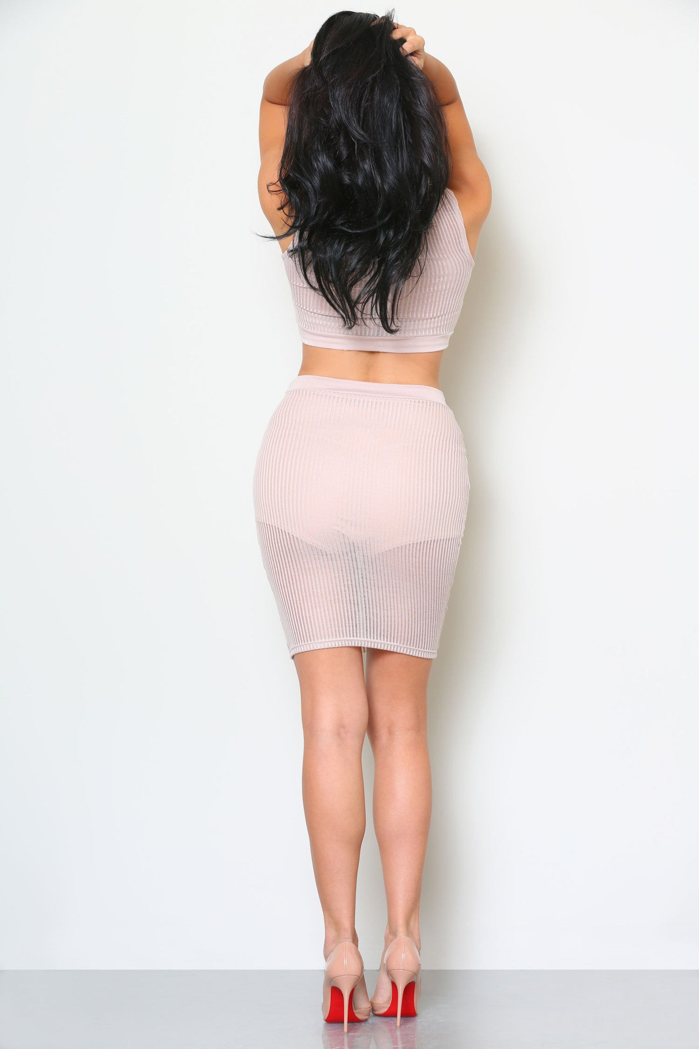 HELENA CROP TOP AND SKIRT SET (SOLD SEPARATELY) - Glam Envy - 3