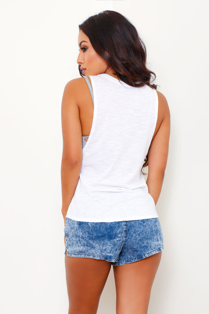 BUT FIRST COFFEE TANK TOP - Glam Envy - 3