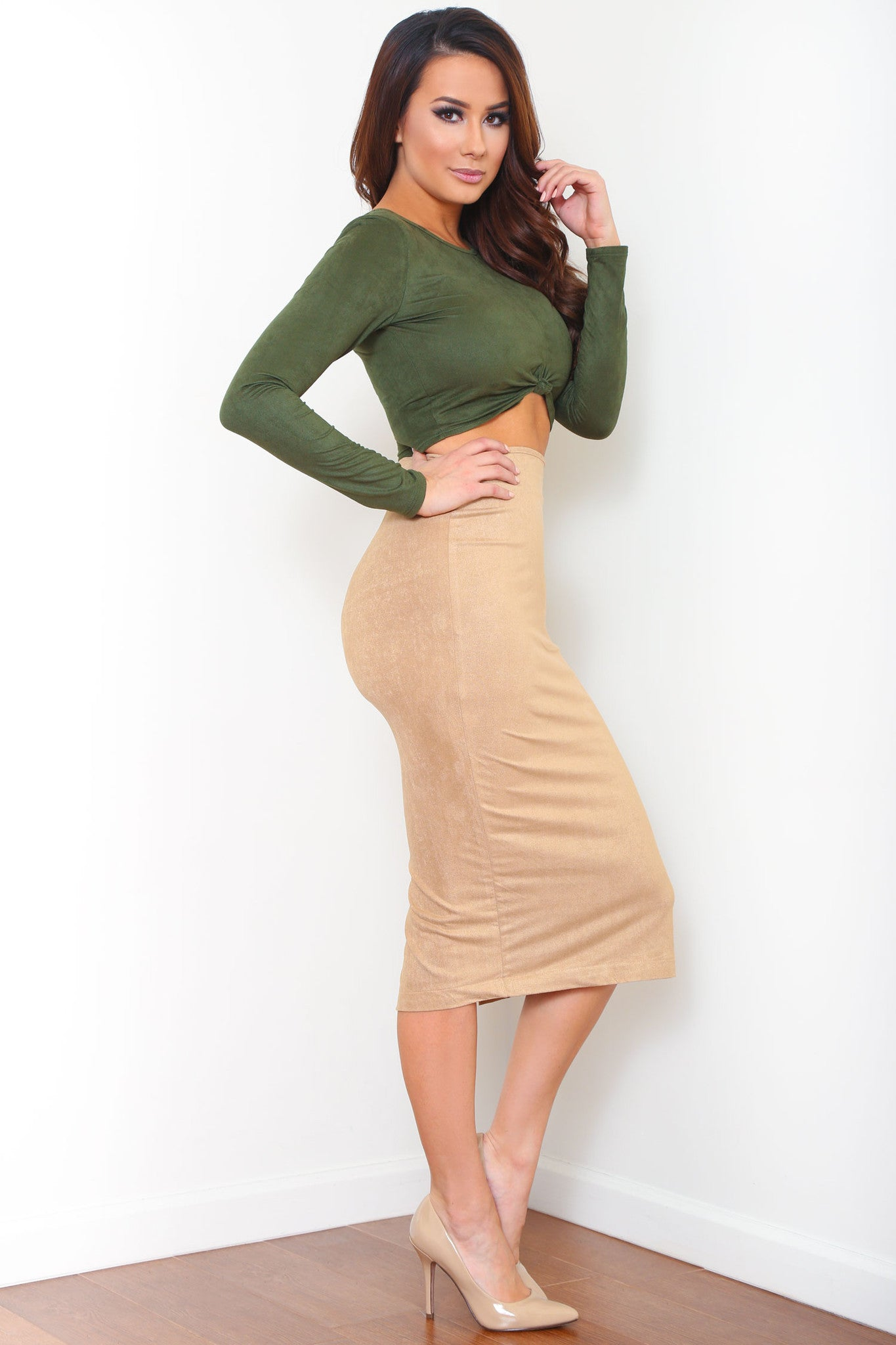 GENEVIEVE CROP TOP - Glam Envy - 2