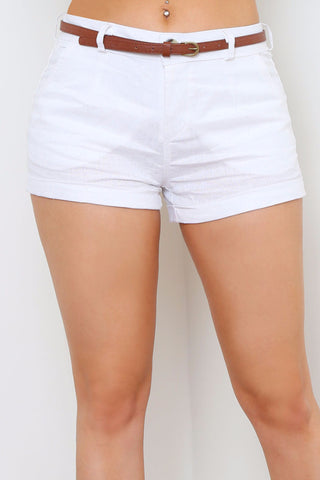 NAYA LINEN SHORTS - Glam Envy - 1