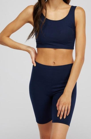 JENNIE CROPPED TANK AND SHORTS SET
