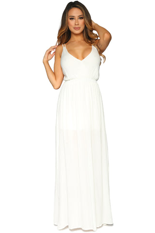 KODY DRESS WHITE GLAM ENVY