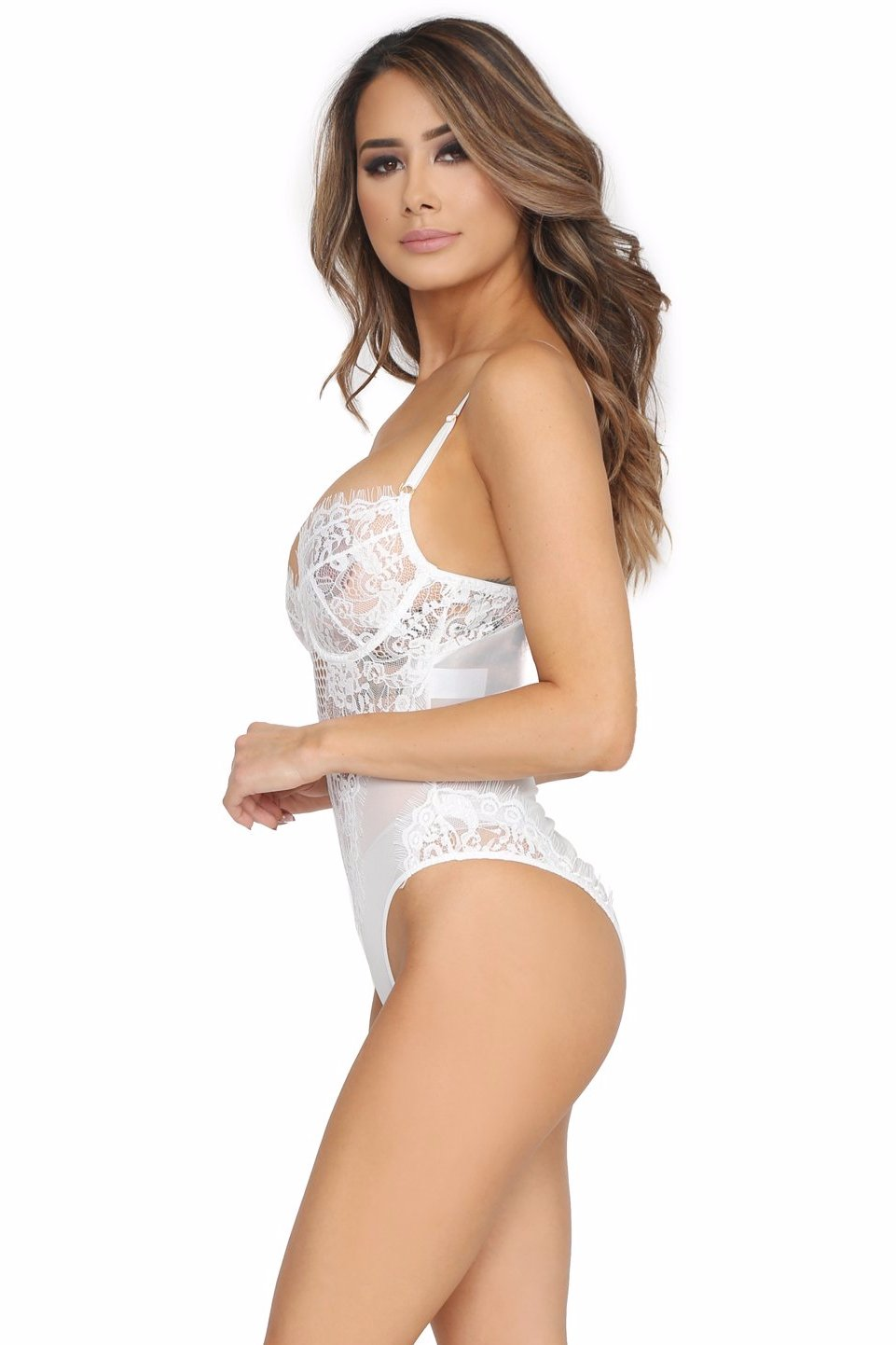 LOVE AND LACE BODYSUIT