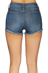 SAMANTHA DENIM SHORTS
