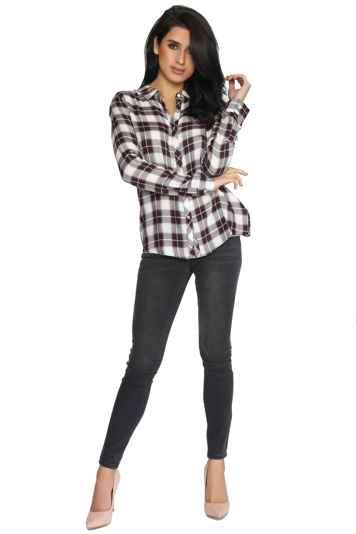 TERESA FLANNEL SHIRT