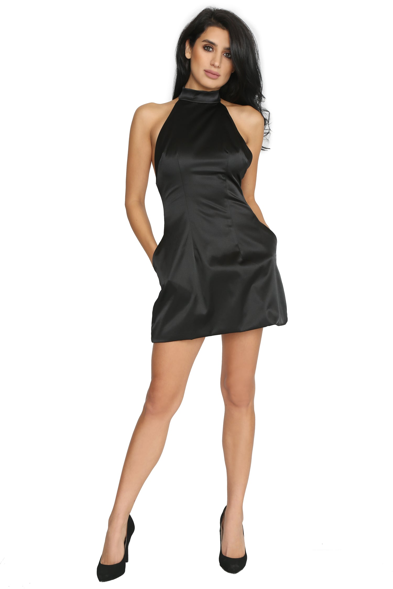 TURNING HEADS MINI DRESS (FINAL PIECE SIZE SMALL)