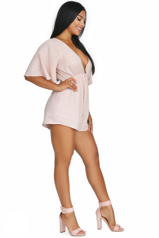 ANGEL WING ROMPER