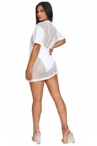 SOUTH BEACH T-SHIRT DRESS