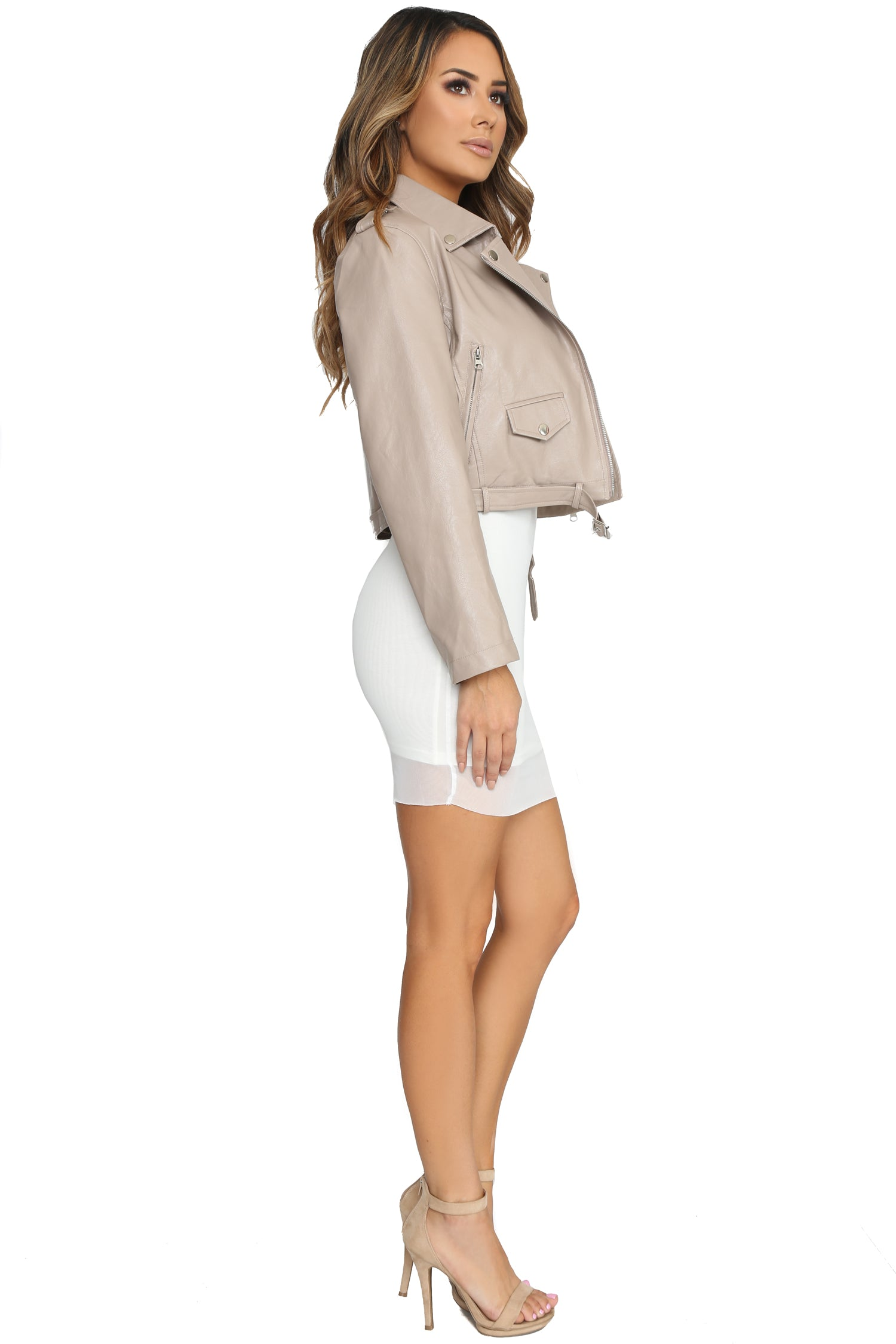 IN THE NUDE MOTO JACKET