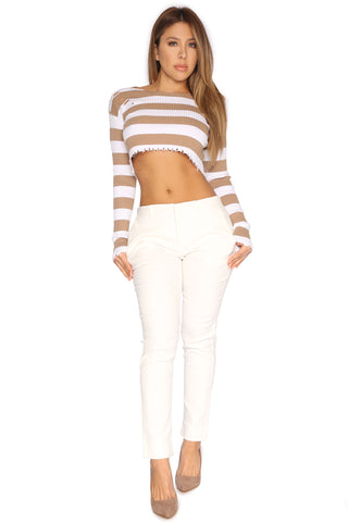 JADA CROPPED SWEATER