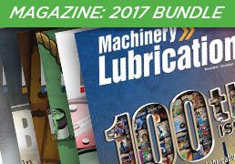 Machinery Lubrication Magazine 2017 Bundle