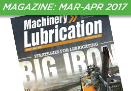 Machinery Lubrication Magazine: March-April 2017