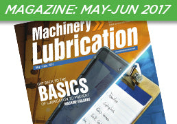 Machinery Lubrication Magazine: May-June 2017